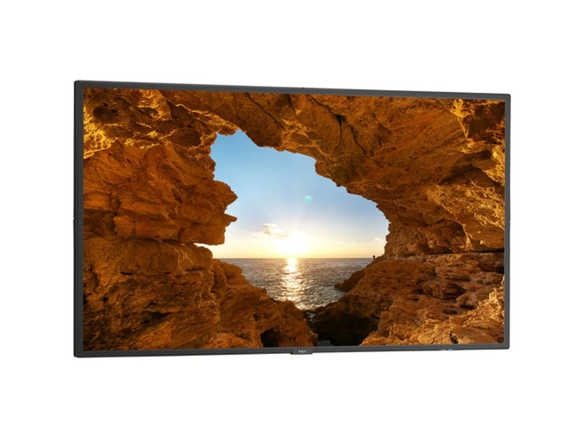 "NEC V484 48"" LCD Public Display Full HD LED Monitor , 500 NITS, Anti-Glare Panel, Integrated Media Playe"