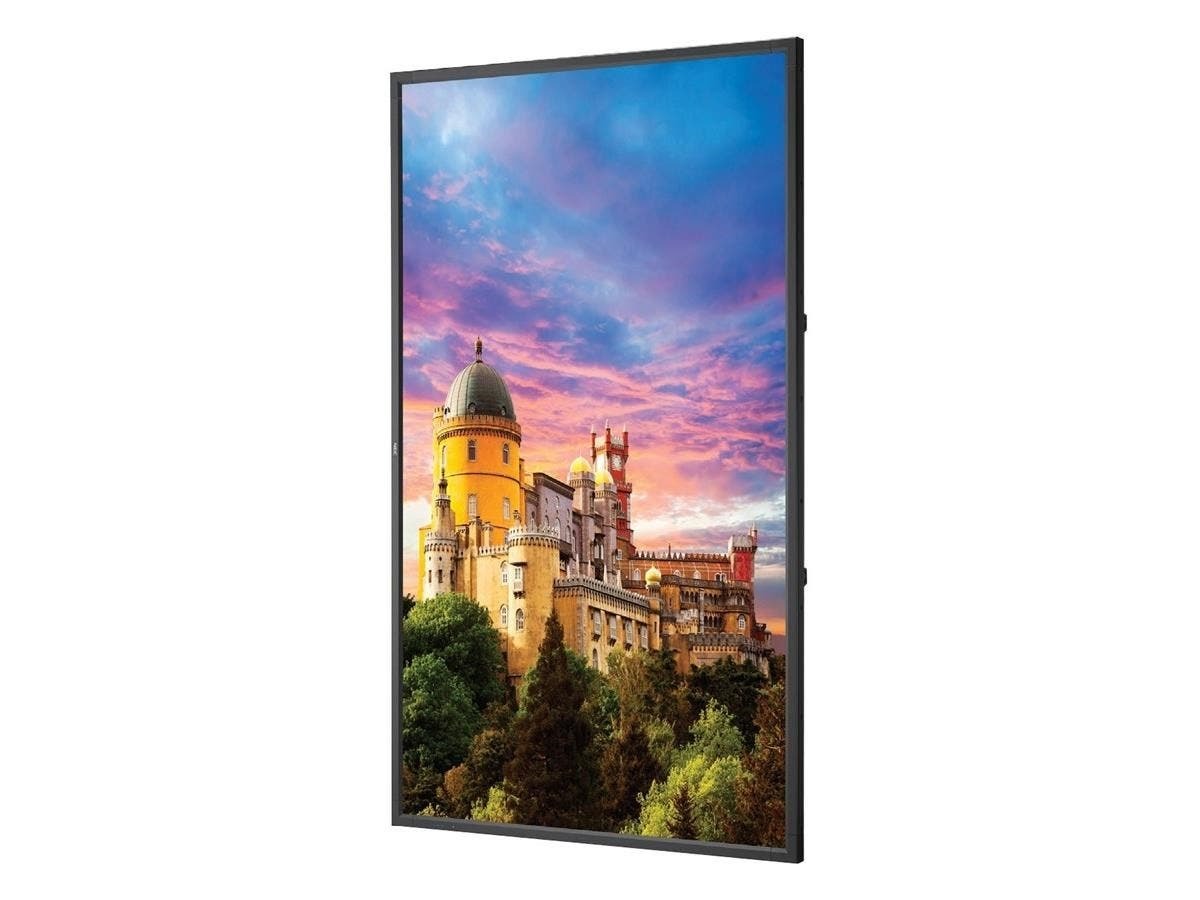 "NEC Display 55"" LED Backlit Ultra High Definition Display - 55"" LCD - 3840 x 2160 - Edge LED - 400 Nit - 2160p - HDMI - USB - DVI - SerialEthernet"
