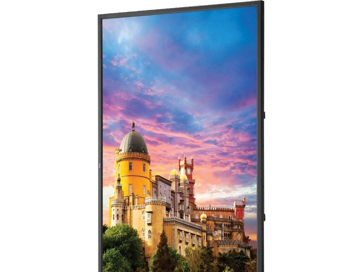 "NEC Display 84"" LED-Backlit Ultra High Definition Professional-Grade Large Screen Display - 84"" LCD - 3840 x 2160 - Edge LED - 500 Nit - 2160p - HDMI - USB - DVI - SerialEthernet"