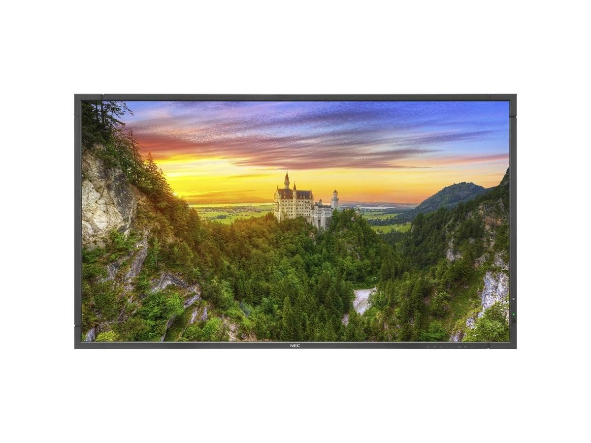 "NEC Display 98"" LED Backlit Ultra High Definition Professional-Grade Large Screen Display - 98"" LCD - 3840 x 2160 - Direct LED - 400 Nit - 2160p - HDMI - USB - DVI - SerialEthernet-Large-Image-1"