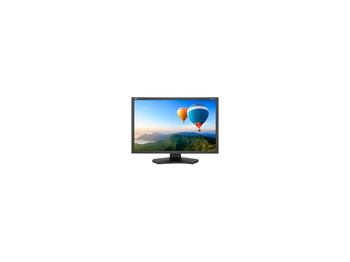 "NEC Display MultiSync PA302W-BK 29.8"" LED LCD Monitor - 16:10 - 6 ms - Adjustable Display Angle - 2560 x 1600 - 1.07 Billion Colors - 340 Nit - 1,000:1 - WQXGA - DVI - HDMI - DisplayPort-Large-Image-1"