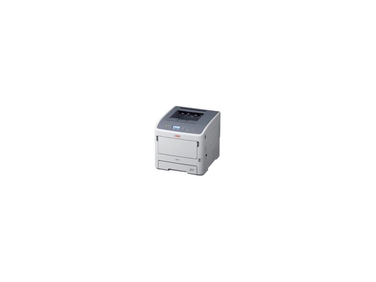 Oki B731DN LED Printer - Monochrome - 1200 x 1200 dpi Print - Plain Paper Print - Desktop - 55 ppm Mono Print - 630 sheets Standard Input Capacity - 280000 pages per month - Automatic Duplex Print - L