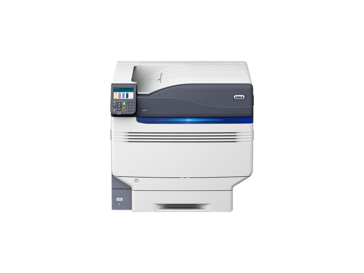 Oki C900 C911DN LED Printer - Color - 1200 x 1200 dpi Print - Plain Paper Print - Desktop - 50 ppm Mono / 50 ppm Color Print - 830 sheets Standard Input Capacity - 300000 pages per month - Automatic D
