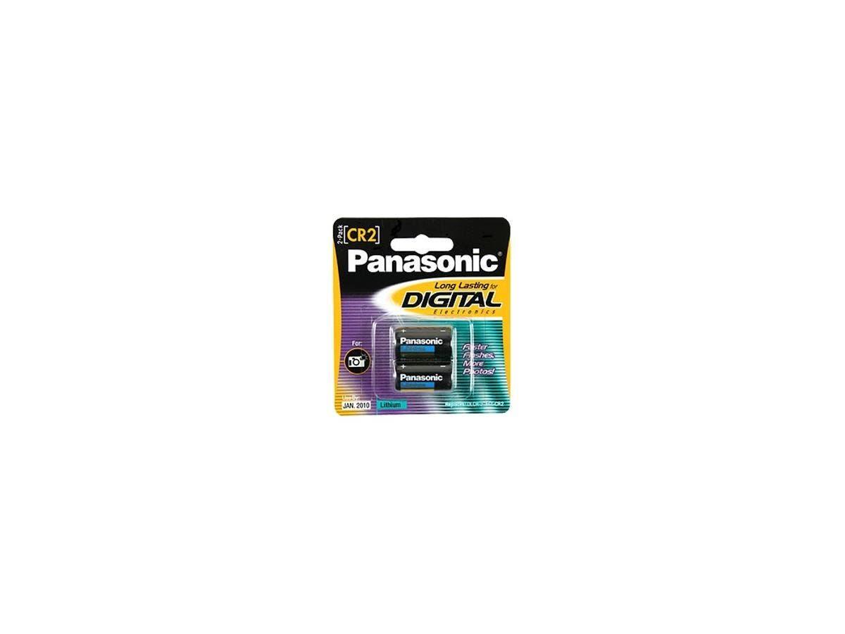 Panasonic CR2 Photo Lithium Battery Pack - 3V DC-Large-Image-1