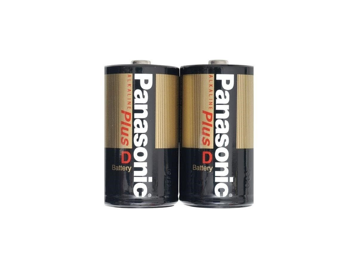 Panasonic D-Size Alkaline Plus Battery Pack - Alkaline-Large-Image-1