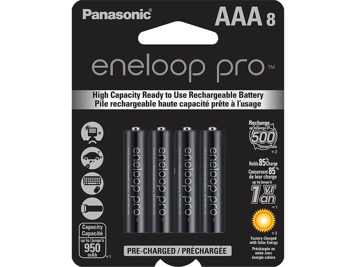 Panasonic eneloop Pro General Purpose Battery - 8 / Pack-Large-Image-1