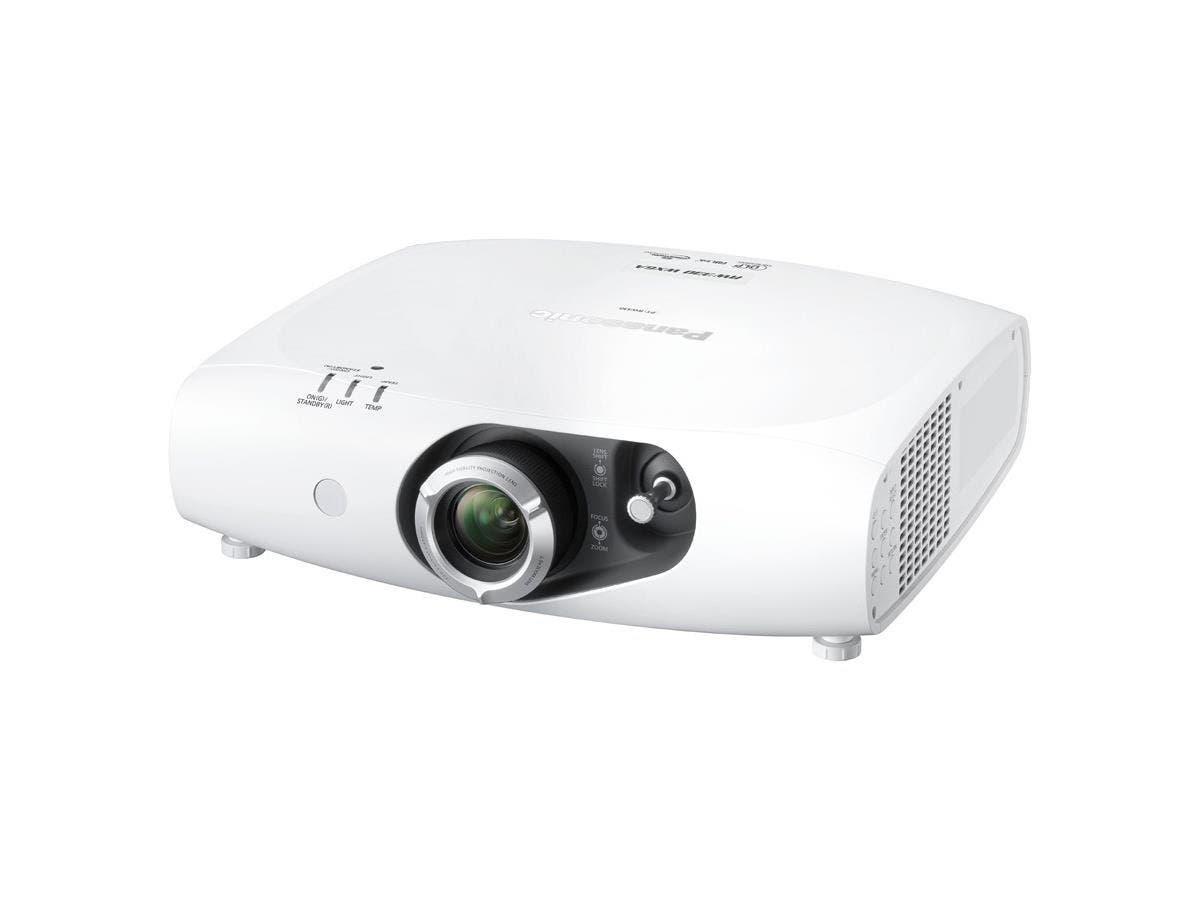 Panasonic PT-RW330U DLP Projector - 720p - HDTV - 16:10 - F/2 - 3.4 - Laser/LED - NTSC, PAL, SECAM - 20000 Hour Normal Mode - 1280 x 800 - WXGA - 10,000:1 - 3500 lm - HDMI - DVI - VGA In - Fast Ethern-Large-Image-1