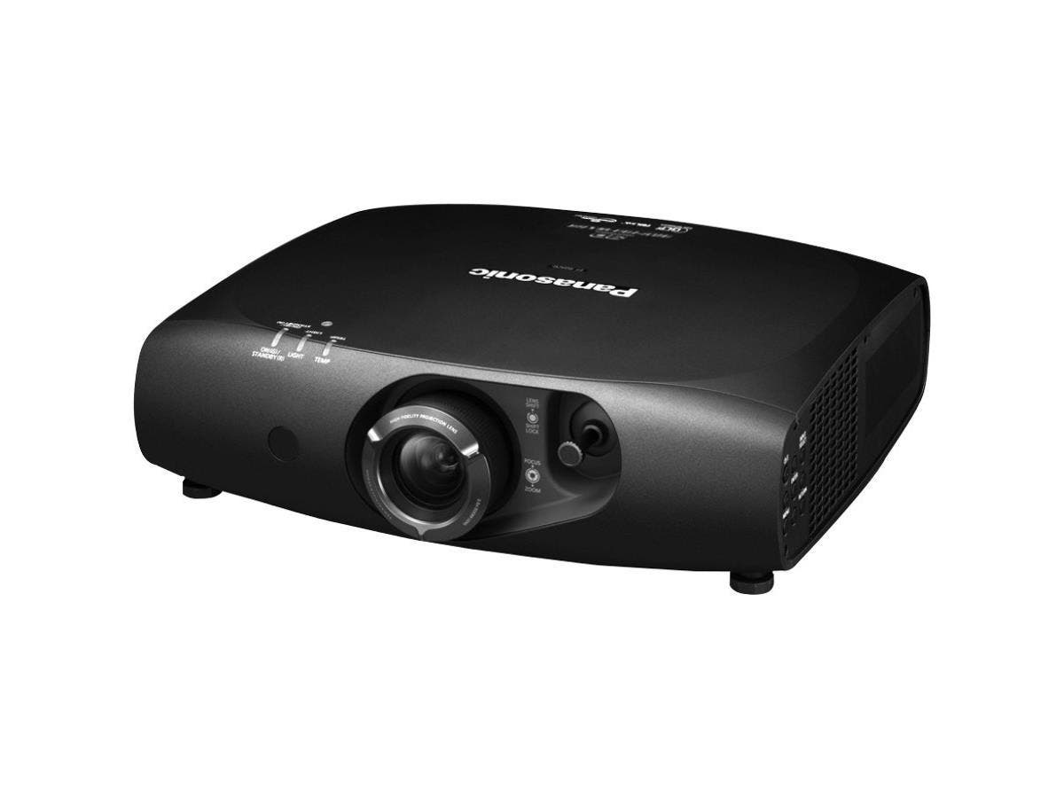 Panasonic PT-RZ470UK 3D Ready DLP Projector - 1080p - HDTV - 16:9 - F/2 - 3.4 - Laser/LED - 1920 x 1080 - Full HD - 20,000:1 - 3500 lm - DisplayPort - HDMI - VGA In - Ethernet - Black Color-Large-Image-1