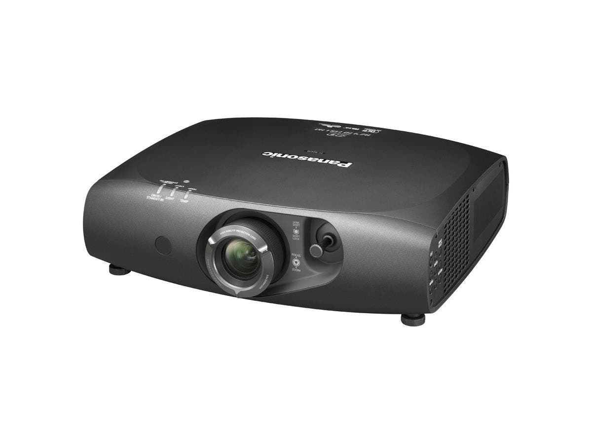 Panasonic PT-RW430UW 3D Ready DLP Projector - HDTV - 16:10 - F/2 - 3.4 - Laser/LED - 20000 Hour Normal Mode - 1280 x 800 - WXGA - 20,000:1 - 3000 lm - HDMI - VGA In - Fast Ethernet - White Color