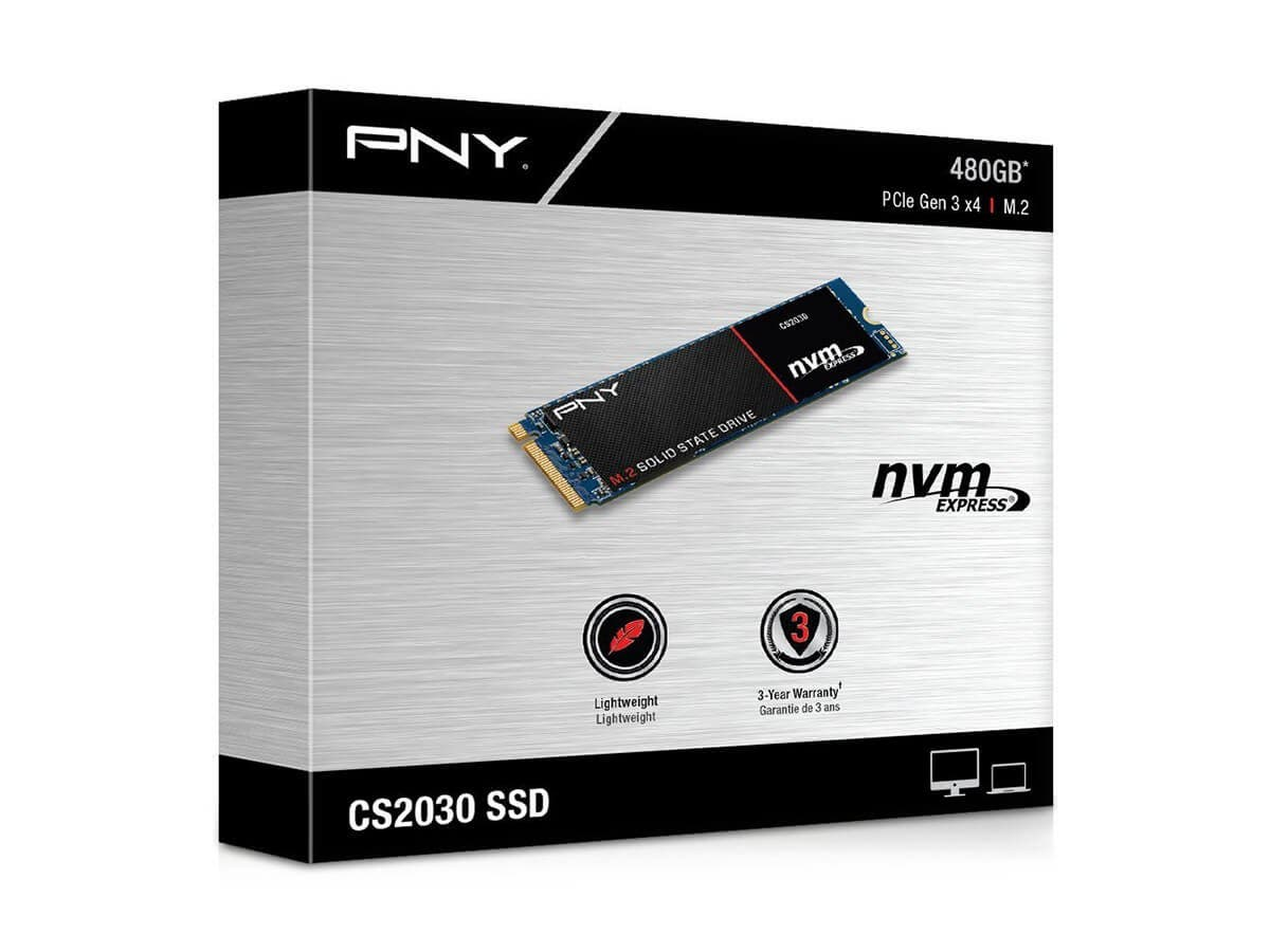 Pny Cs2030 2280 34 480gb M 2 2280 Pcie Nvme Internal Solid State