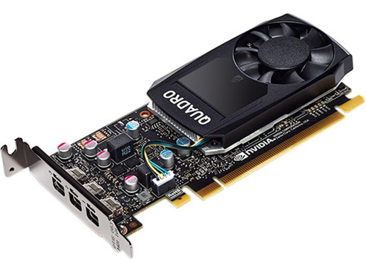 PNY Quadro P400 VCQP400-PB 2GB 64-bit GDDR5 PCI Express 3.0 x16 Low Profile Video Cards - Workstation