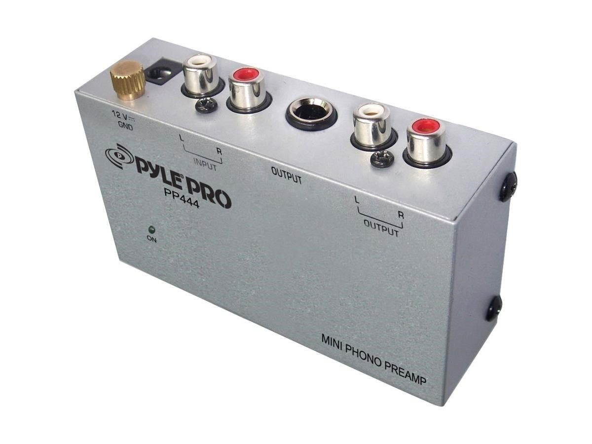 PylePro PP444 Amplifier - 0.1% THD - 20 Hz to 20 kHz-Large-Image-1