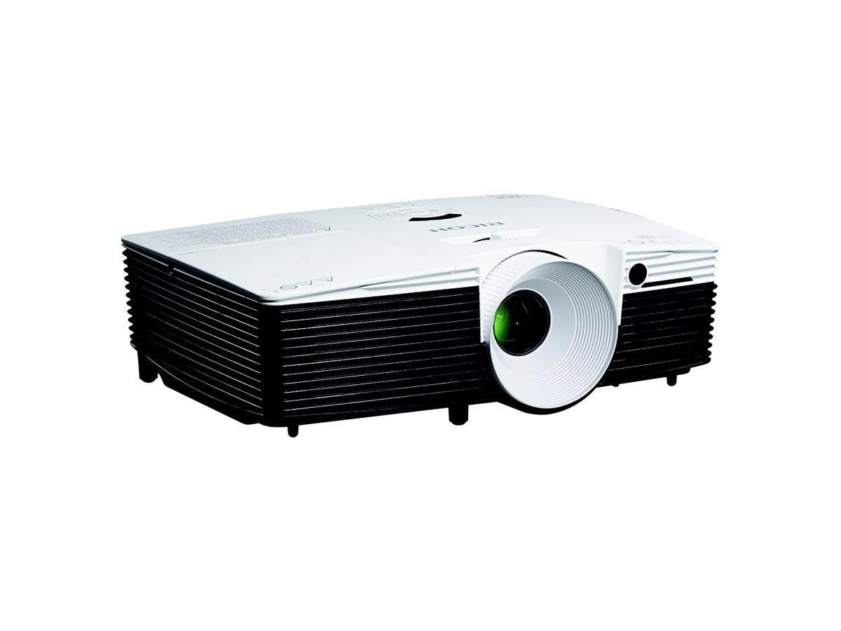 Ricoh PJ WX2240 3D Ready DLP Projector - HDTV - 16:10 - Mercury Lamp - 190 W - 4500 Hour Normal Mode - 6000 Hour Economy Mode - 1280 x 800 - WXGA - 2,200:1 - 3100 lm - HDMI - USB - VGA In - 230 W - 3 -Large-Image-1