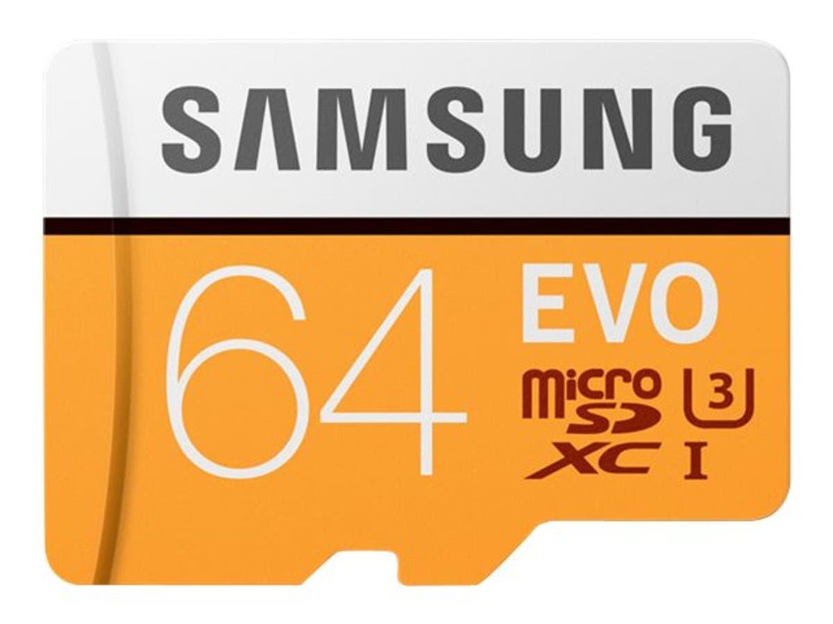 Samsung 64GB EVO UHS-I microSDXC Memory Card - MB-MP64GA/AM