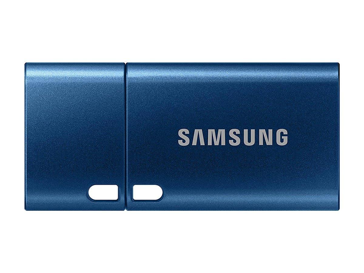 Samsung MUF-64DA1/WW USB Type-C 3.1 Flash Drive, 64 GB, Blue