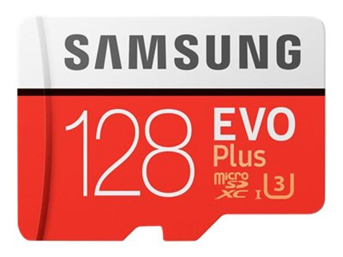 Samsung 128GB EVO Plus MicroSDXC Card with SD Adapter