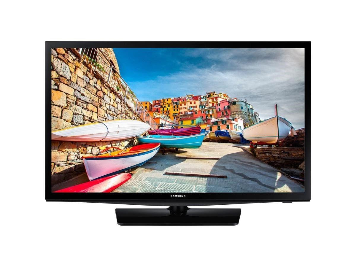 "Samsung 470 HG28NE470AF 28"" 720p LED-LCD TV - 16:9 - HDTV - Black - ATSC - 1366 x 768 - Dolby Digital Plus, DTS 2.0 Digital out - 10 W RMS - LED - 2 x HDMI - USB - Ethernet - Wireless LAN-Large-Image-1"