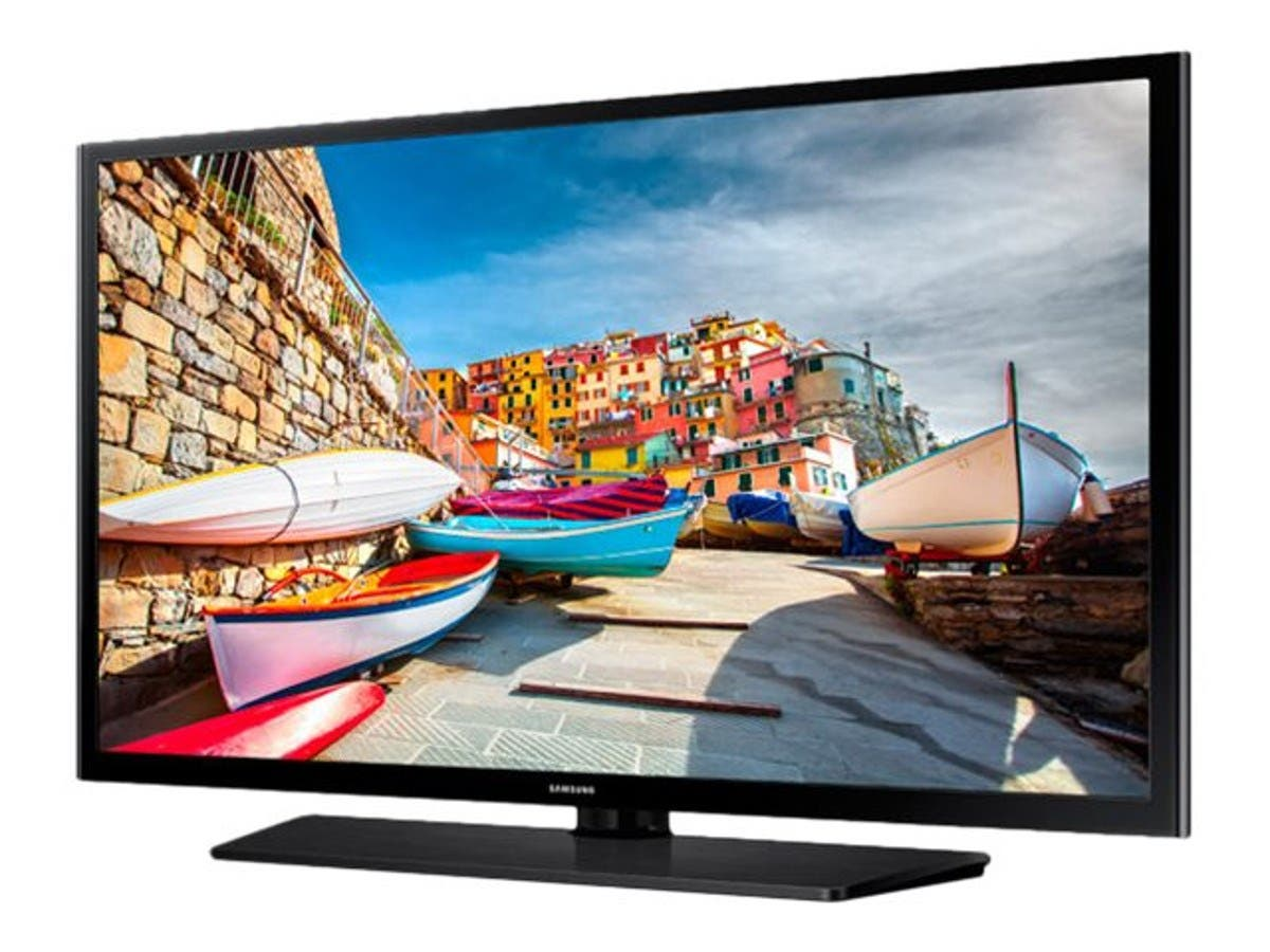 "Samsung 43"" HE470 Full HD LED-LCD Hospitality TV, Black-Large-Image-1"