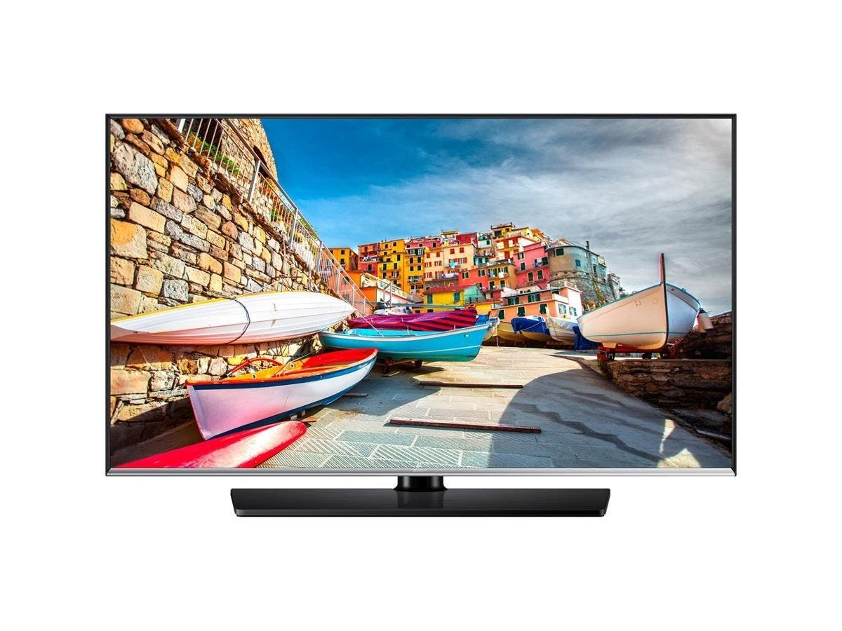 "Samsung 478 HG32NE478BF 32"" LED-LCD TV - 16:9 - HDTV - Black - ATSC - 1366 x 768 - Dolby Digital Plus, DTS - 10 W RMS - Direct LED - 2 x HDMI - USB"