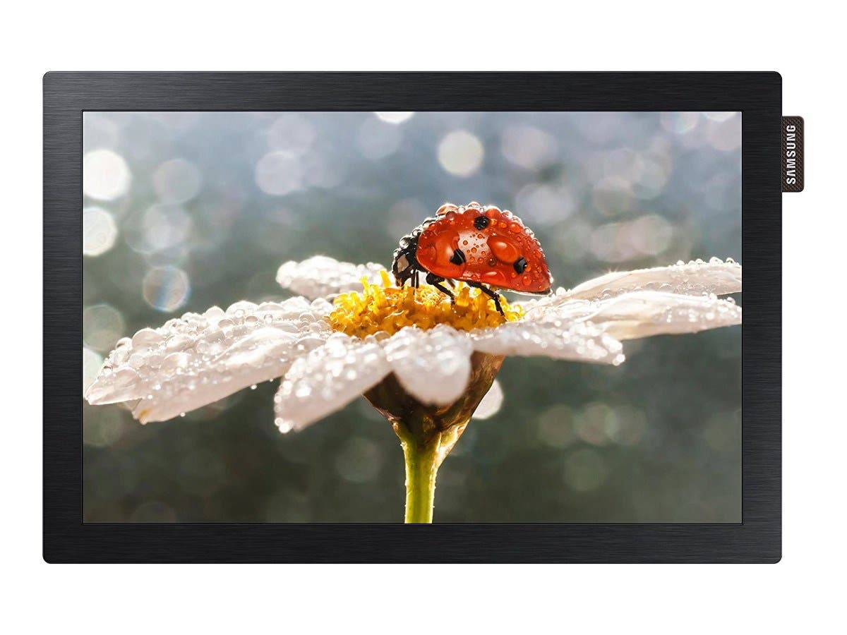 "Samsung DB10E-POE — DB-E Series 10.1"" Edge-Lit LED Display for Business"