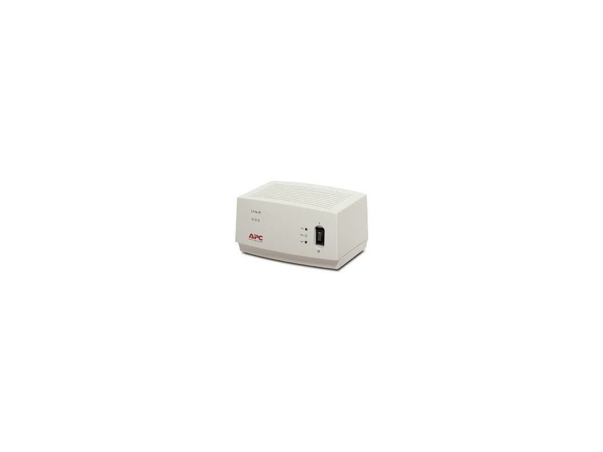 APC Line-R 600VA Line Conditioner With AVR - 110V AC 600VA