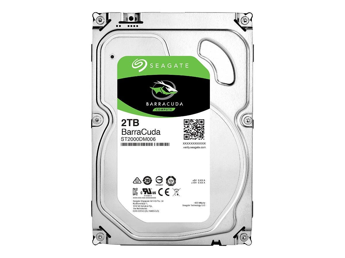 "Seagate ST2000DM006-20PK 2TB BarraCuda 7200 RPM 3.5"" SATA 6Gb/s Hard Drive with 64MB Cache 20-pack -Large-Image-1"