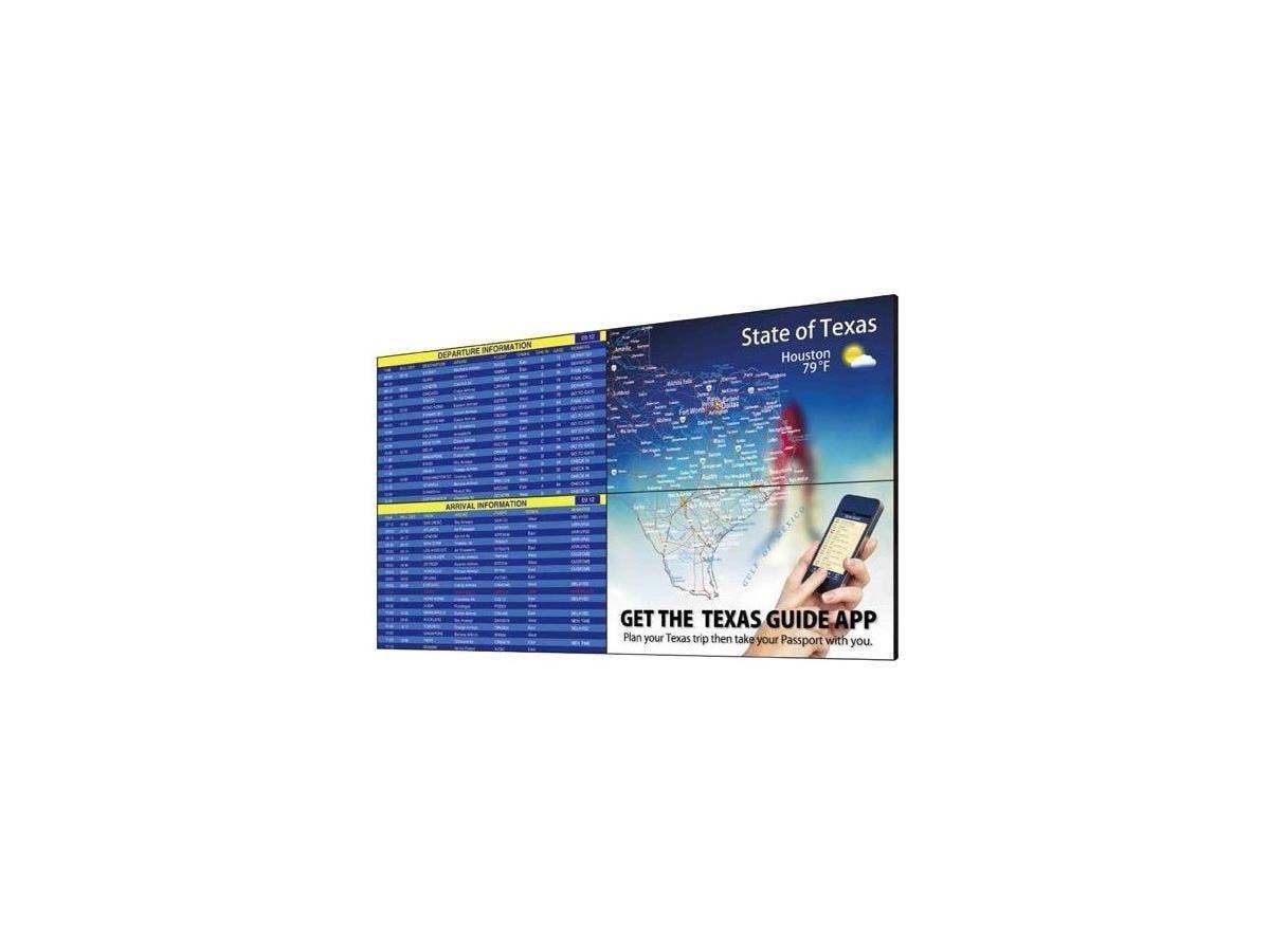 """Sharp PN-V551 Digital Signage Display - 55"""" LCD - 1920 x 1080 - LED - 700 Nit - 1080p - HDMI - DVI - SerialEthernet - Black-Large-Image-1"""