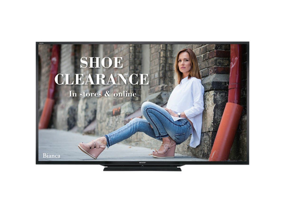 "Sharp 90"" PN-LE901 Full HD Commercial TV-Large-Image-1"