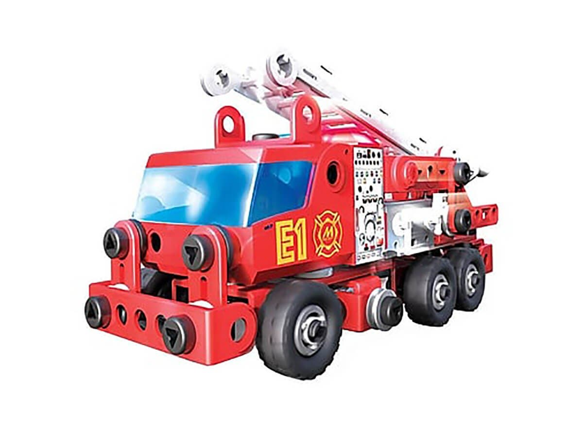 Spin Master 6028420 Meccano Junior Fire Engine Deluxe Baby Toy