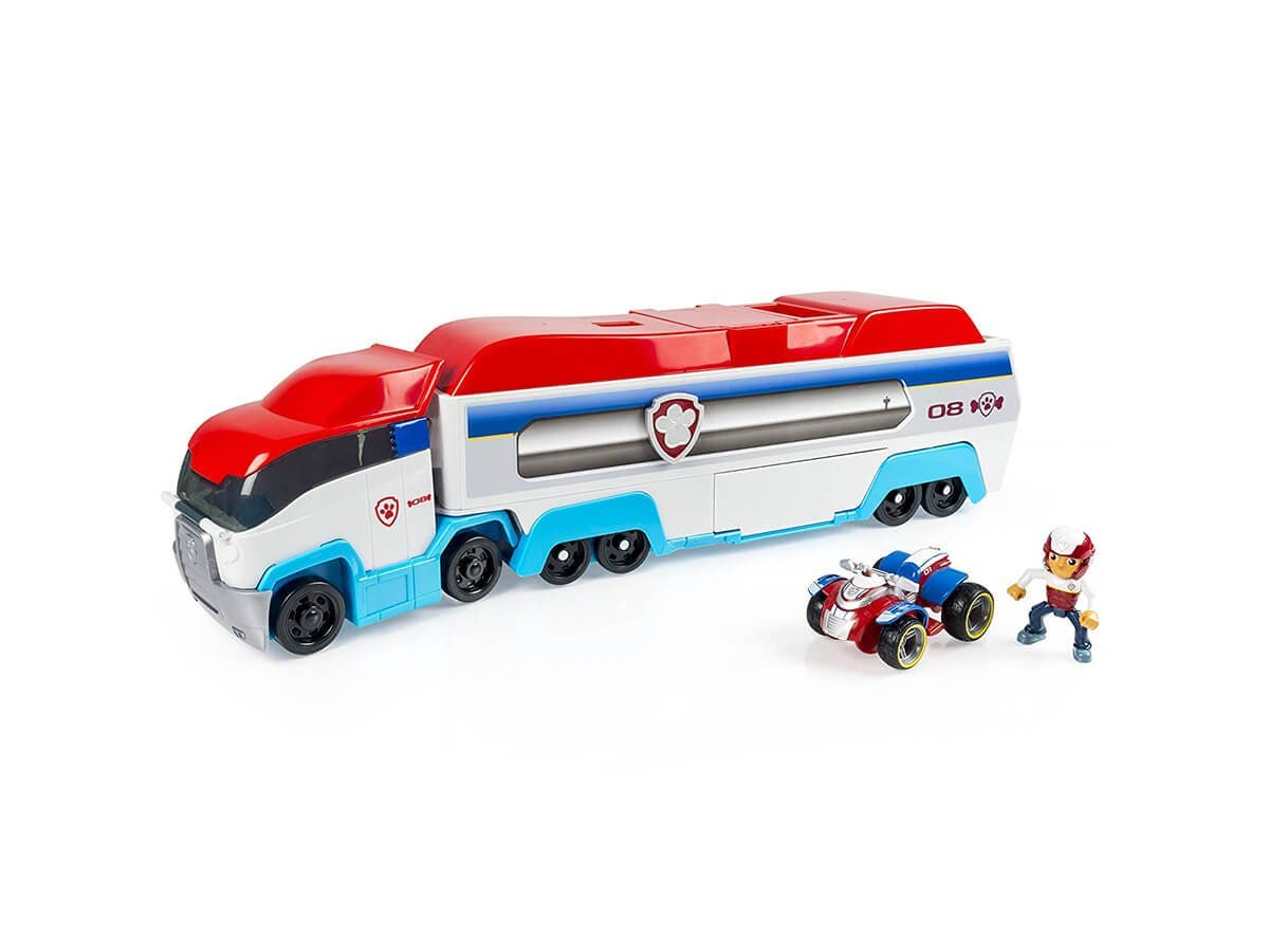 Spin Master™ Paw Patrol Paw Patroller Rescue Vehicle Toy (6024964)-Large-Image-1