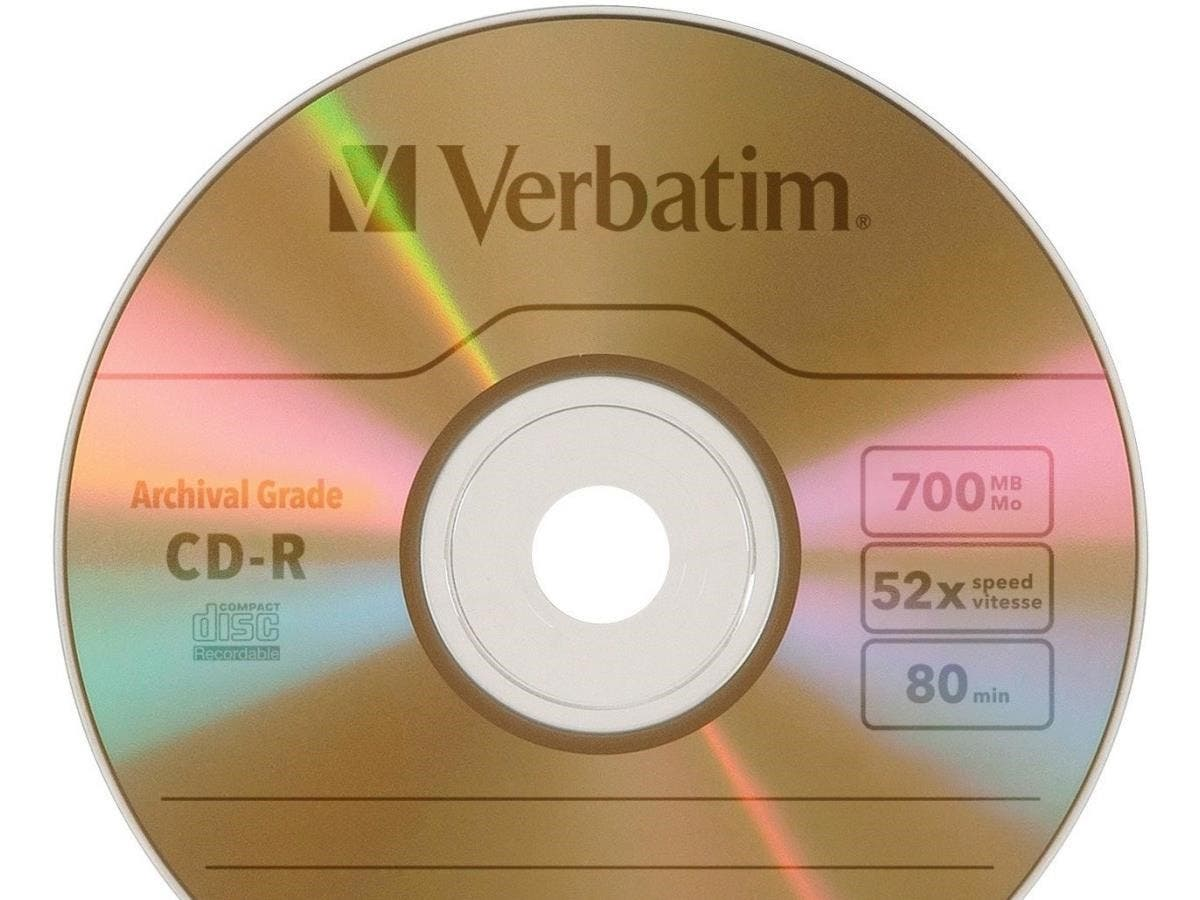 Verbatim UltraLife CD Recordable Media - CD-R - 52x - 700 MB - 1 Pack Jewel Case - 120mm - 1.33 Hour Maximum Recording Time