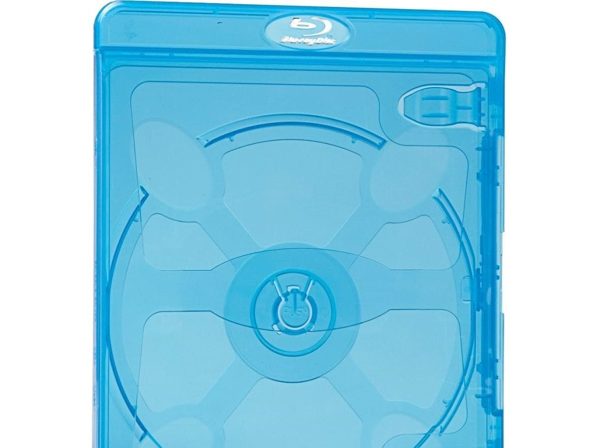 Verbatim Blu-Ray DVD Blue Cases - 30pk - TAA Compliant - Plastic-Large-Image-1