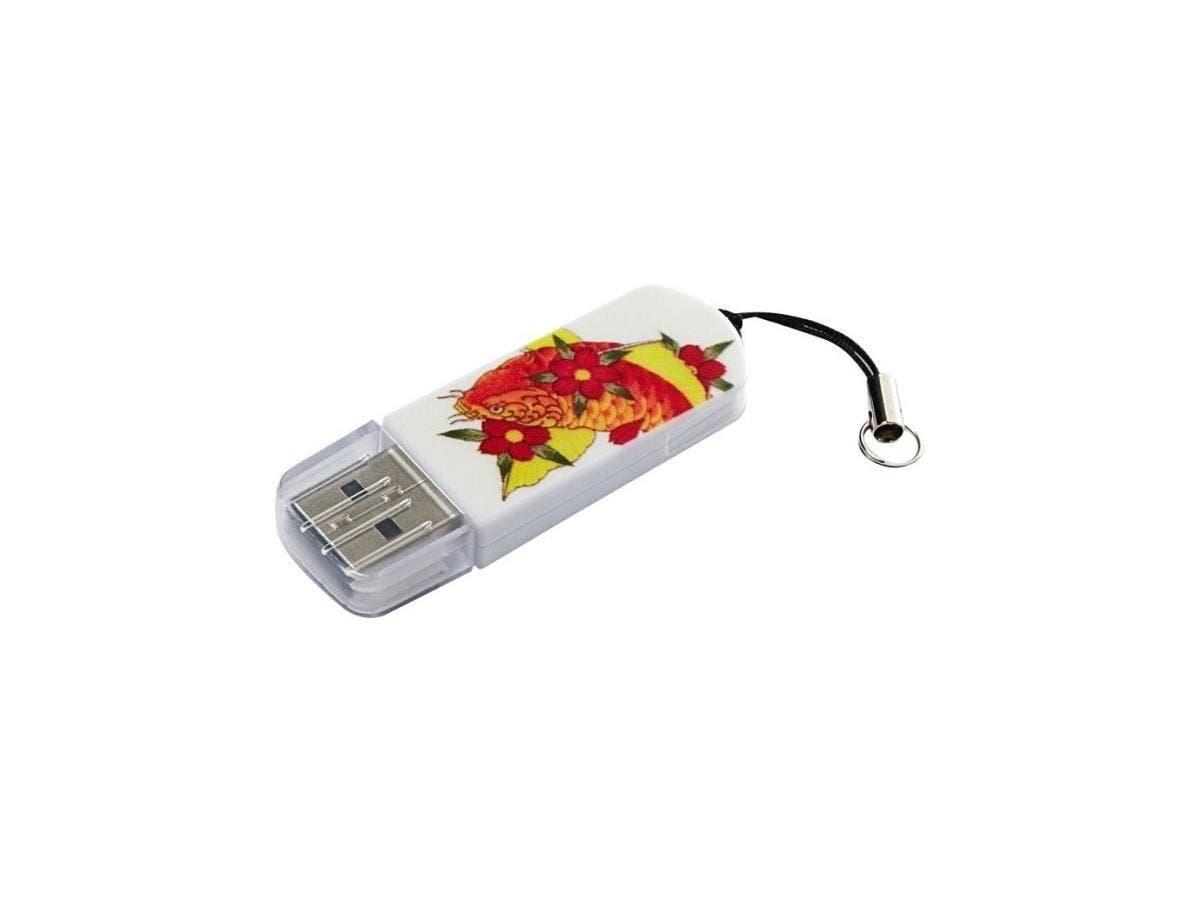 Verbatim 8GB Mini USB Flash Drive - Koi - 8 GBKoi
