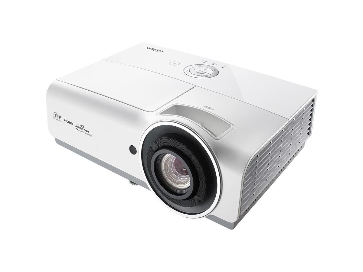 Vivitek DH833 3D DLP Projector - 1080p - HDTV - 16:9 - Ceiling, Rear, Front - 310 W - 2500 Hour Normal Mode - 3000 Hour Economy Mode - 1920 x 1080 - WUXGA - 15,000:1 - 4500 lm - HDMI - USB - 410 W - 3-Large-Image-1