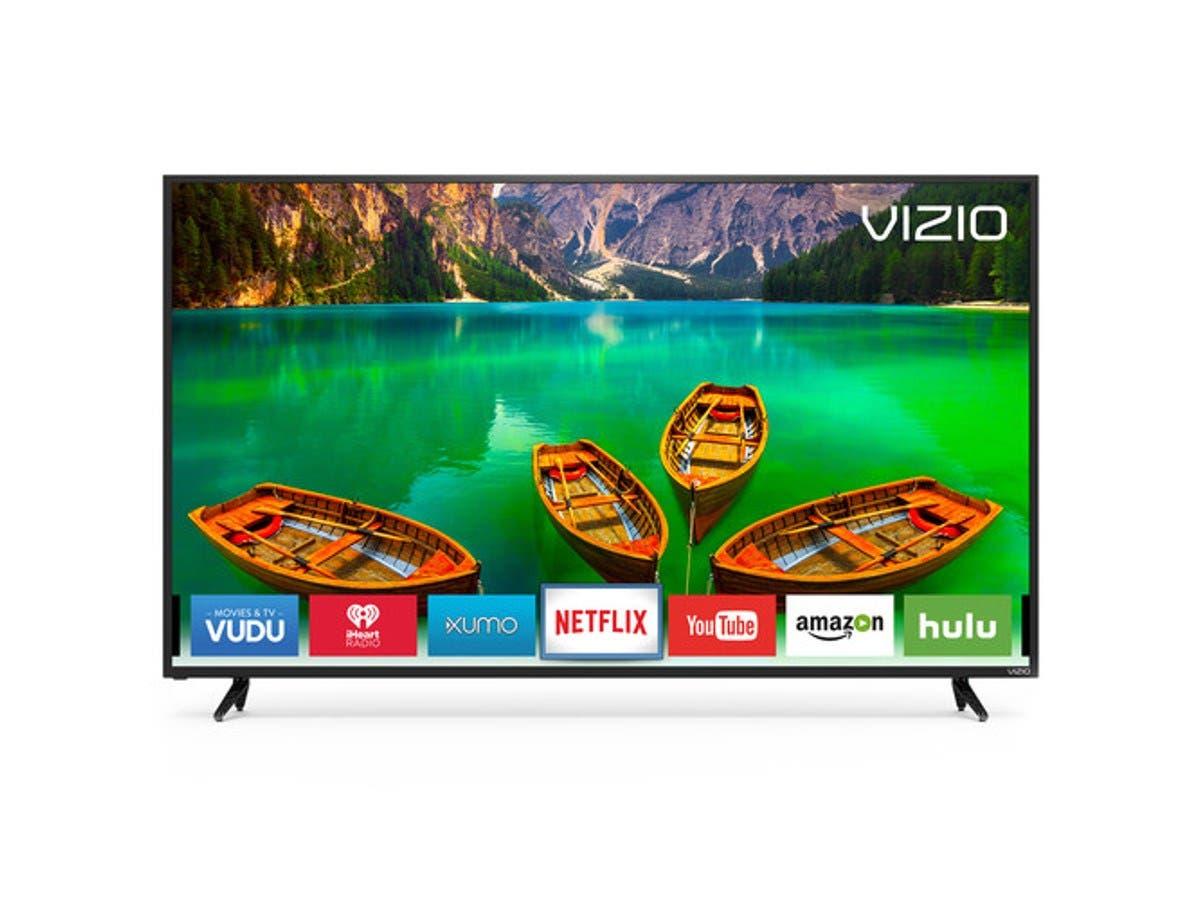 """VIZIO D65-E0 65"""" UHD 4k Full-Array LED Smart TV - Black"""