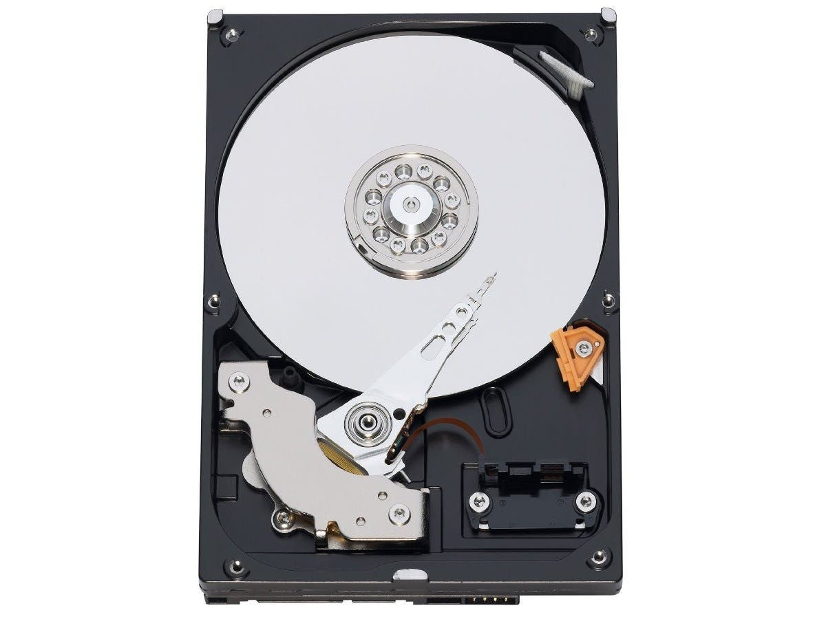 Western Digital 250 GB Caviar Blue SATA 3 Gb/s 7200 RPM 16 MB Cache Bulk/OEM Desktop Hard Drive - WD2500AAKS -Large-Image-1
