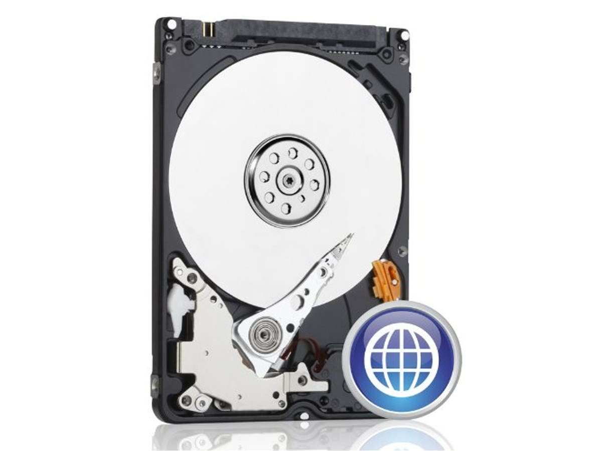 WD Blue 250GB Mobile Hard Disk Drive - 5400 RPM SATA 3 Gb/s 2.5 Inch - WD2500LPVT -Large-Image-1