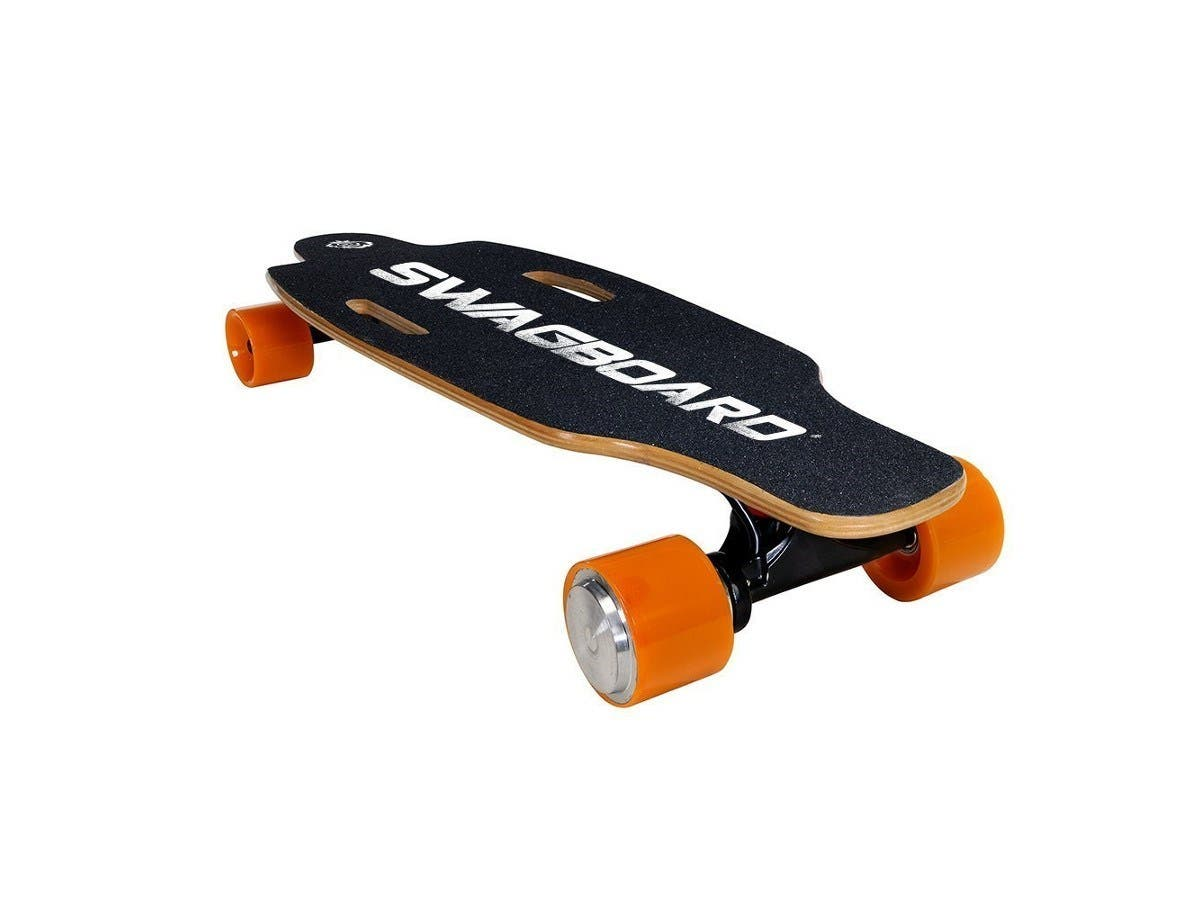SWAGTRON SwagBoard NG-1 Electric Longboard UL 2272 Certified Electric Skateboard Wireless LED Remote