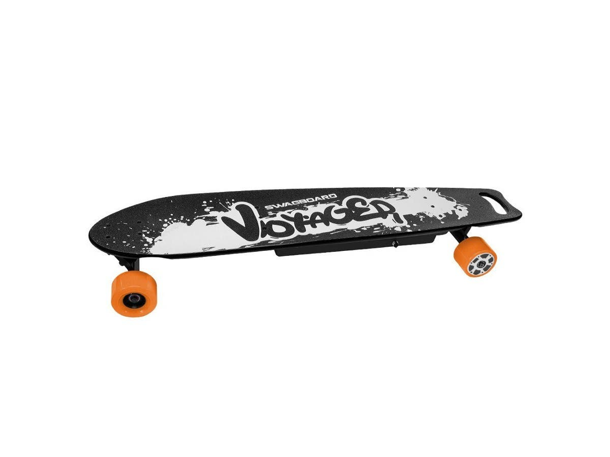 SWAGTRON Voyager Electric Longboard 700W Skateboard 8ply Deck & Wireless Remote -Large-Image-1
