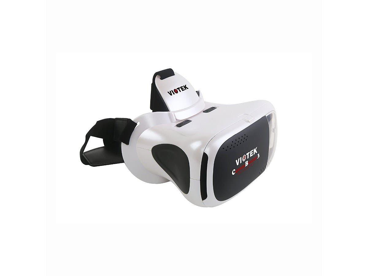 Viotek Canyon Breeze V3+ 3D VR Glasses Headset, White Headset Only