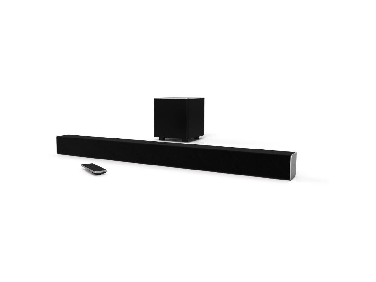 "VIZIO SB3821-D6 SmartCast38"" 2.1 Sound Bar System (Recertified)-Large-Image-1"