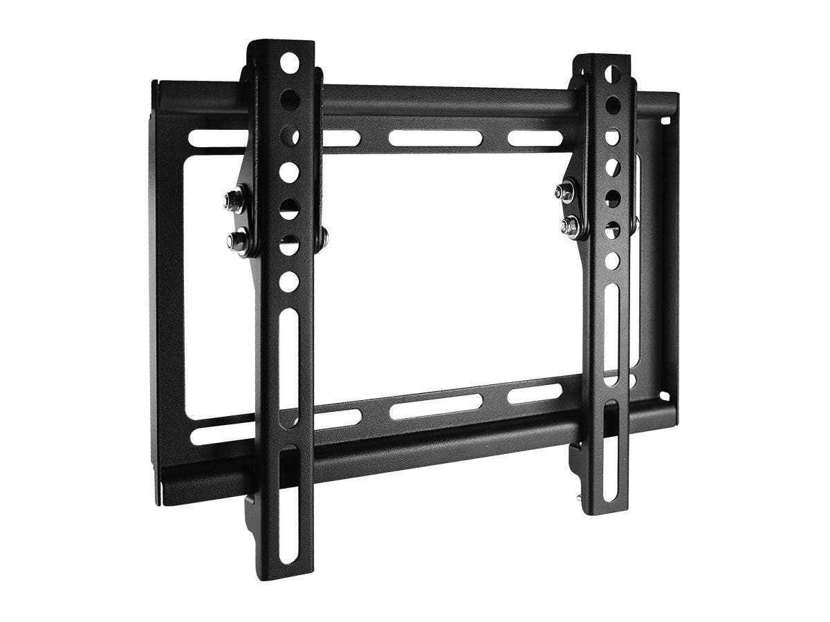 monoprice essentials slim tilt tv wall mount small ul