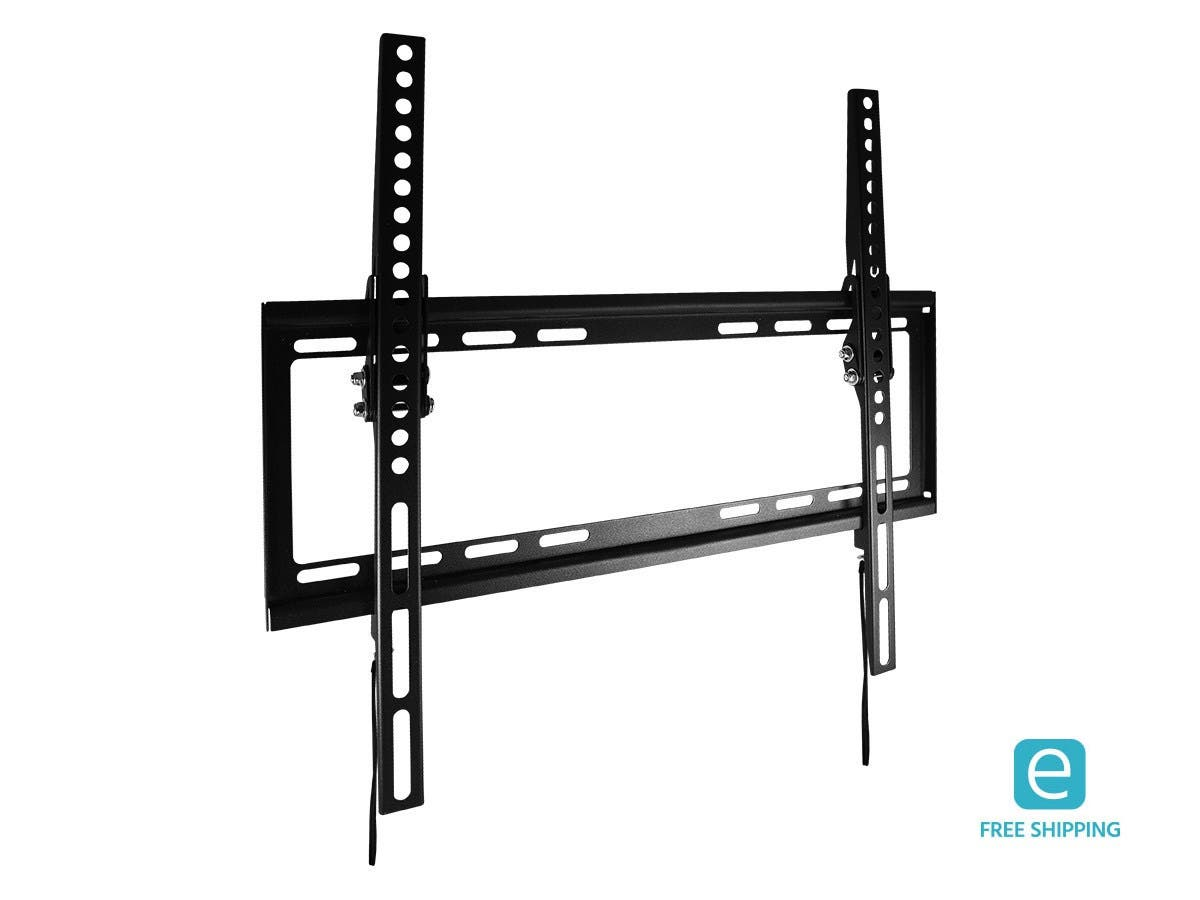 Monoprice Essentials Slim Tilt TV Wall Mount, Large - UL Certified-Large-Image-1