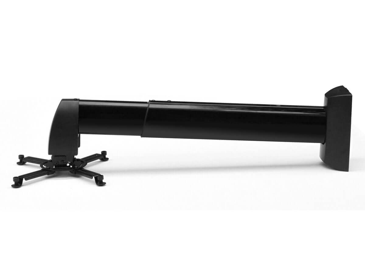 Monoprice Wall Mount Bracket for Projector w/ 400-600mm Extension (Max 44lbs) - BLACK (Open Box)-Large-Image-1