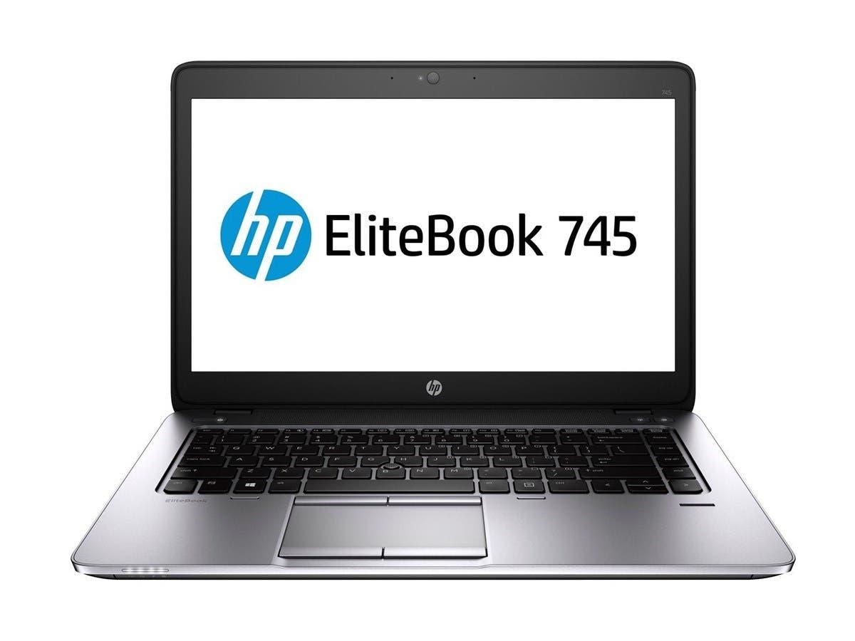 "HP P0C23UT#ABA HP EliteBook 745 G2 14"" Notebook - AMD A-Series A10 Pro-7350B Quad-core (4 Core) 2.10 GHz - Carbon - 8 GB DDR3L SDRAM RAM - 500 GB HDD (Open Box)"