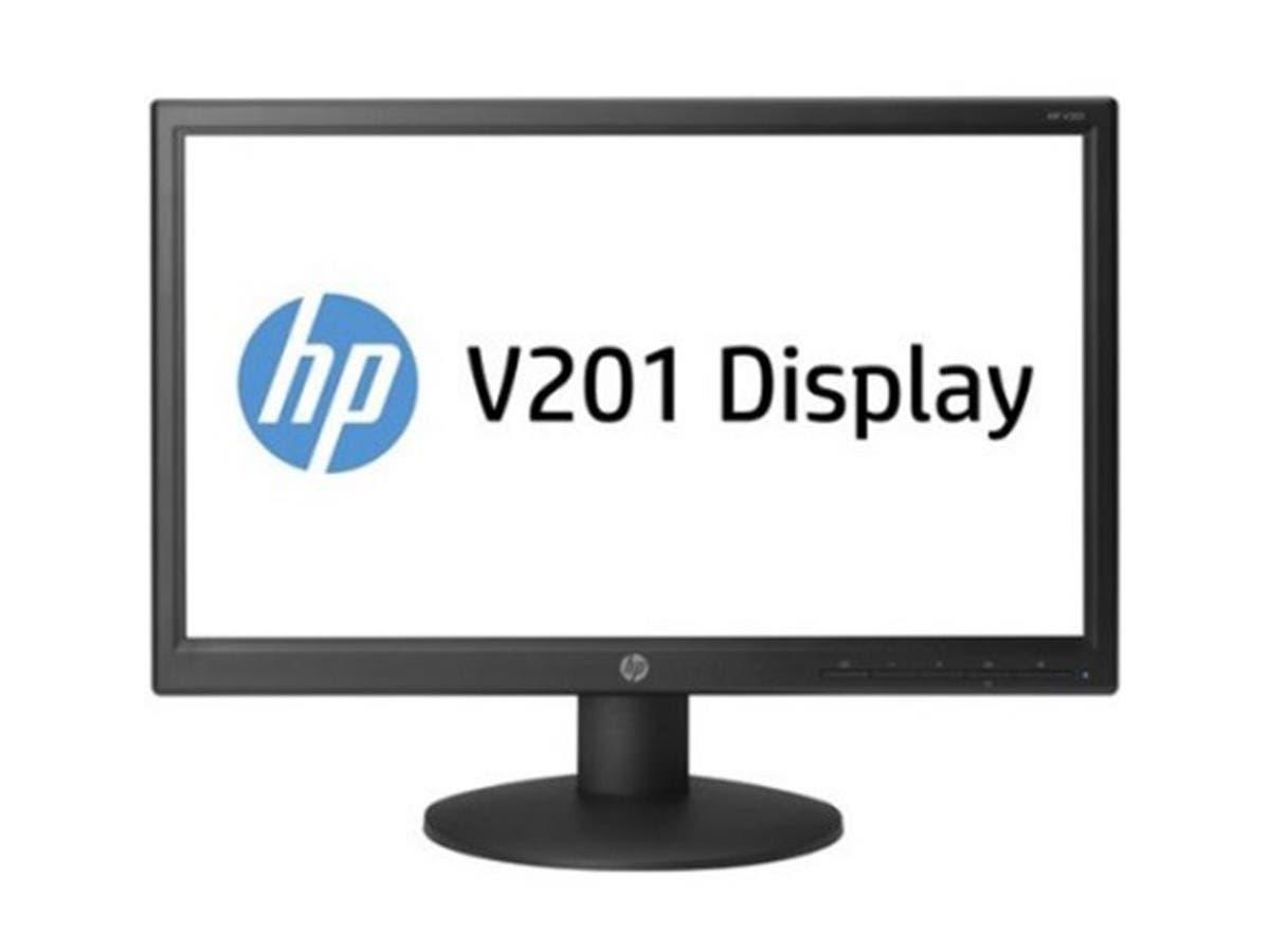 "HP V201 19.45"" LED HD Monitor - Black (Open Box)"