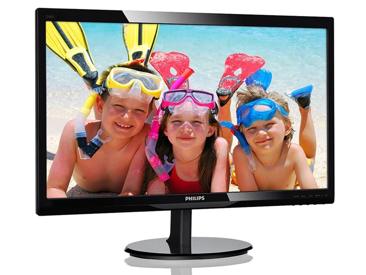 Philips V-line 223V5LSB 21.5-inch 1920x1080 FullHD  LED Monitor (Open Box)
