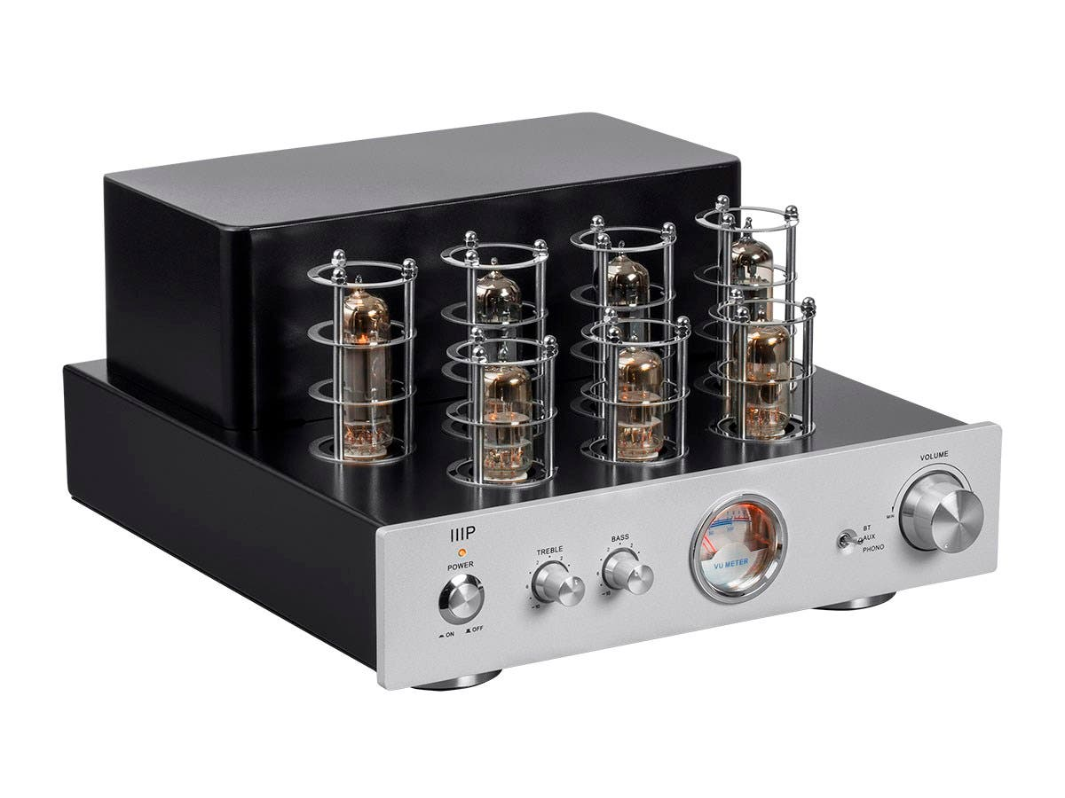 Monoprice Pure Tube Stereo Amplifier With Bluetooth Line