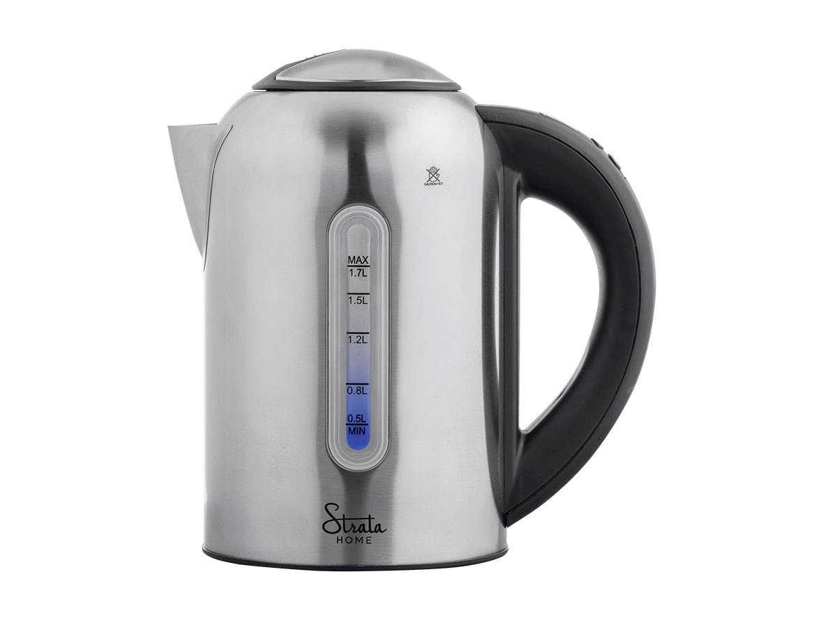 Strata Home by Monoprice Stainless Steel Electric Kettle, 1.7 Liter-Large-Image-1