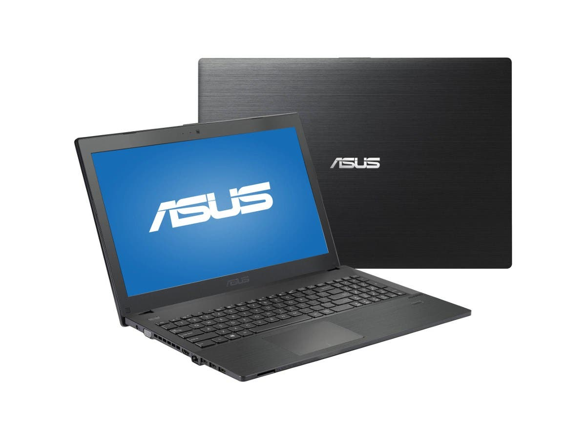 "Asus Pro Essential P2520LA-XH31 IntelCore i3 5005U / 2 GHz - Win 7 Pro 64-bit (includes Win 10 Pro 64-bit License) - 4 GB RAM - 500 GB HDD - DVD-W - 15.6"" 1366 x 768 (HD) - HD Graphics 5500-Large-Image-1"